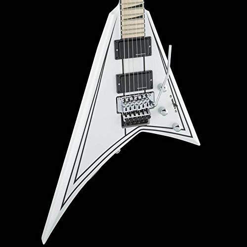 Rhoads Strings Randy - Jackson RR24 X Series Rhoads - Satin White with Black Pinstripes