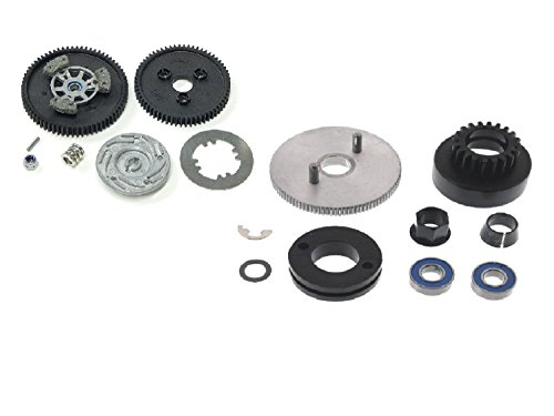 Traxxas Revo Slipper Clutch (TRAXXAS REVO 3.3 CLUTCH BELL AND SLIPPER CLUTCH PARTS PACKAGE, THIS IS A GREAT BUY)