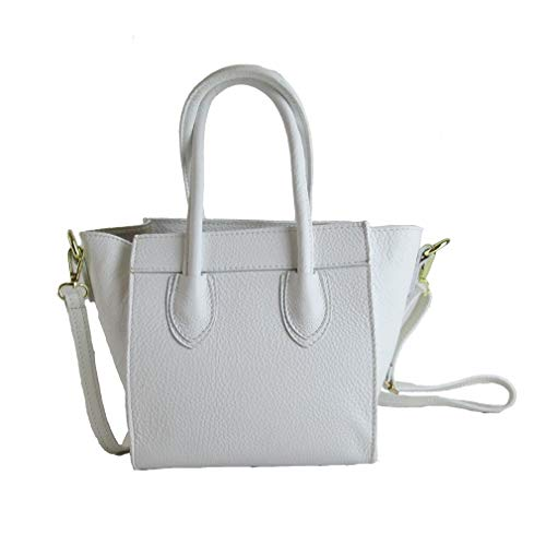 In Leather Italy Fg Genuine Bag Made Ladies Little wzxSqqXB6