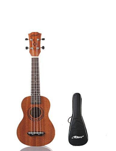 makanu-mahogany-soprano-ukulele-with-gig-bag-21-inch-standard-model-for-professional-nature-color