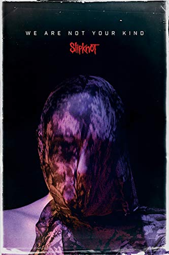 Slipknot - Music Poster (We are Not Your Kind - Face/Mask) (Size: 24 inches x 36 inches)