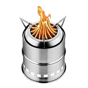 Amazon Com Canway Camping Stove Wood Stove Backpacking