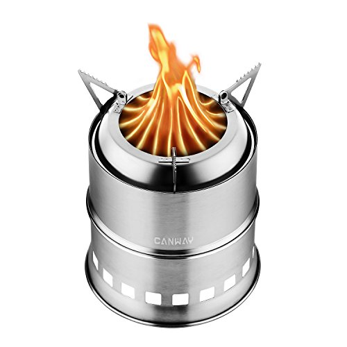 Canway Camping Stove, Wood Stove/Backpacking...