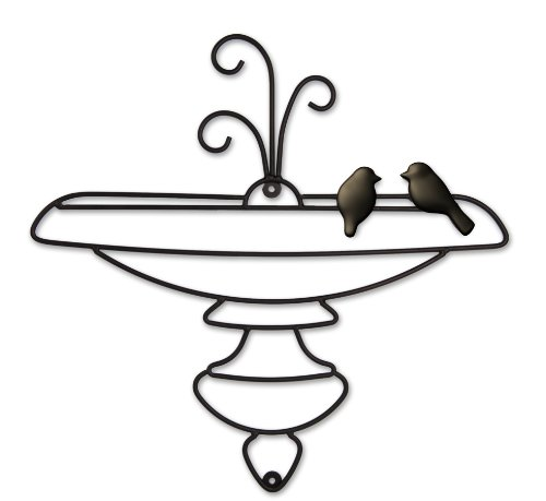 Plastec WD211DB Bird Bath by Plastec