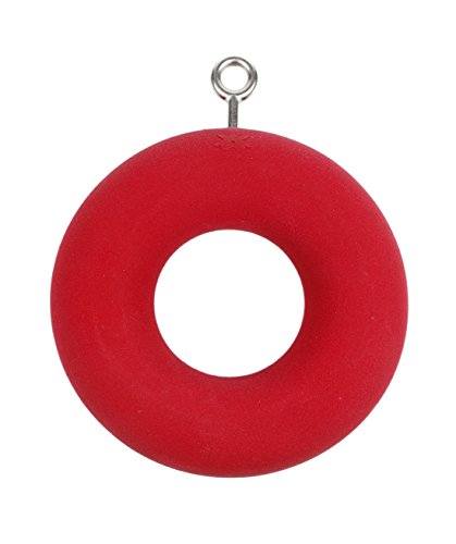 XXL Donut Ring (3 INCH Diameter : ONE UNIT)| Climbing Holds | Red by Atomik Climbing Holds