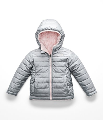 The North Face Todd Girl's Reversible Mossbud Swirl Jacket - Mid Grey - 6T ()