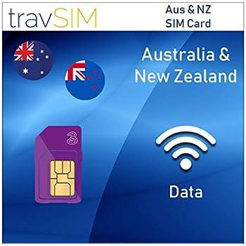 Amazon.com: Tarjeta SIM de datos prepagada para Australia y ...