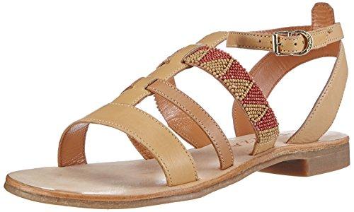 Apepazza REBECCA GAUCHO - Sandalias de vestir de cuero para mujer beige - Beige (BEIGE)