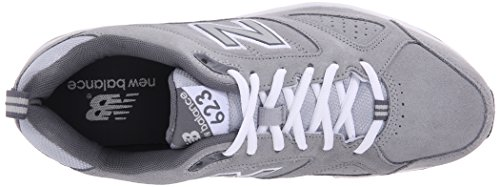 New Balance Mens 623v3 Training Shoe, Grey, 10 2E US Grey
