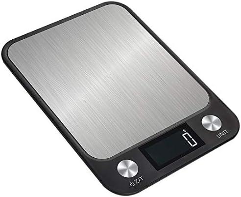 Bilancia da Cucina Digitale Bilance da cucina elettroniche Bilance per uso domestico Strumento per misurare la cottura Acciaio inossidabile Pesatura digitale degli alimenti
