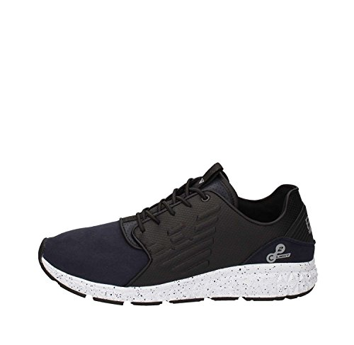Emporio Armani EA7 scarpe sneakers uomo nuove originale spirit winterized blu FOTO