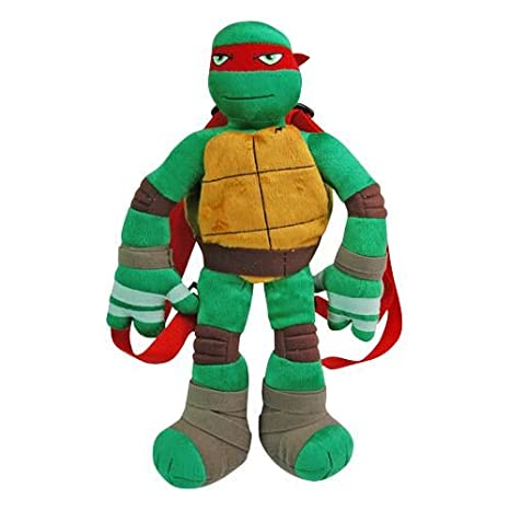 TMNT Raphael Plush Backpack