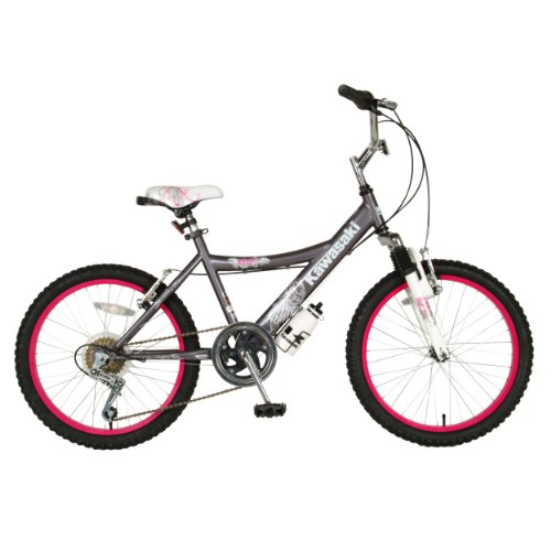 Kawasaki Kid's Bike, 20 inch Wheels, 12 inch Frame, Girl's Bike, - Bike Kawasaki Girls
