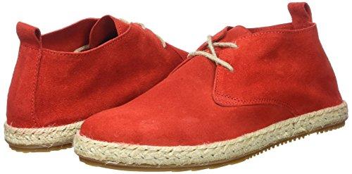 Femme rouge Derbys Bottines Espadrille Bensimon Rouge Classiques Yqpw7I1x