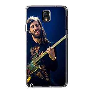 Shock-Absorbing Cell-phone Hard Cover For Samsung Galaxy Note3 With Allow Personal Design Colorful Foo Fighters Skin LauraFuchs