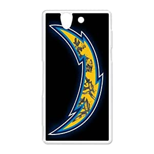 Cute NFL Team Logo San Diego Charger Hard Protective Plastic Back Case Cover for Sony Xperia Z Perfect as Christmas gift(4)