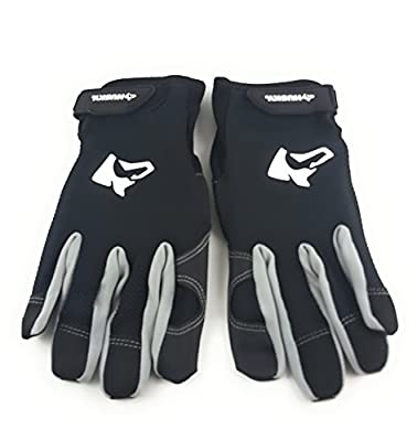 Husky LIGHT Duty Mechanic Contractor Work Gloves with Touchscreen Compatible Design