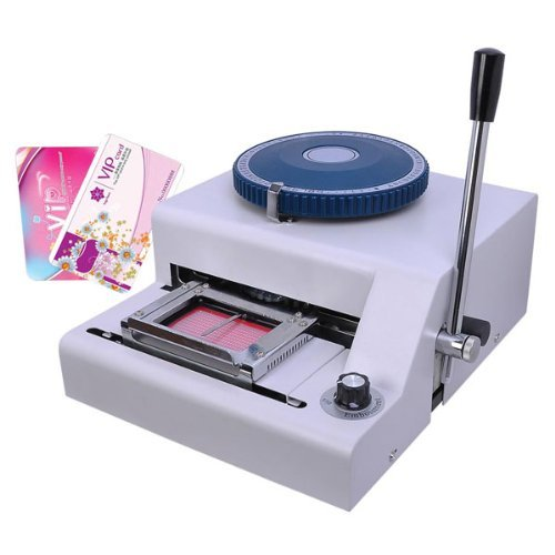 Triprel Inc. Professional Membership PVC Plastic Card Manual Embosser Embossing Machine by Triprel Inc