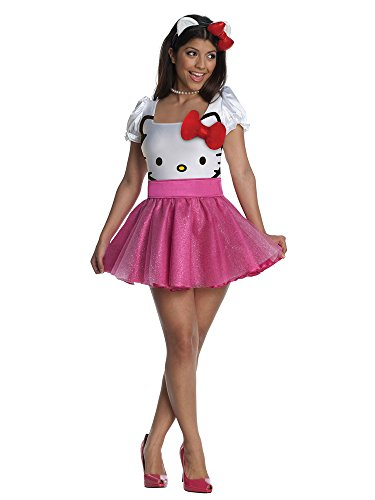 Hello Kitty Costume - Small - Dress Size (Hello Kitty Dresses For Adults)