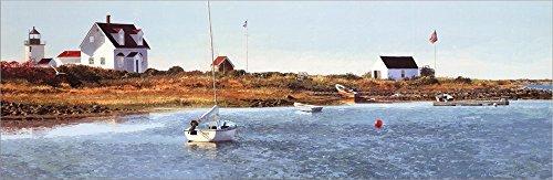 (Goat Island Light I Double Sided Laminate, 36 x 12 inches)