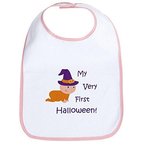 CafePress - Baby First Halloween Bib - Cute Cloth Baby Bib, Toddler Bib