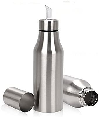 Aceite aceitera de botella acero inoxidable 750 ML (fuerte ...