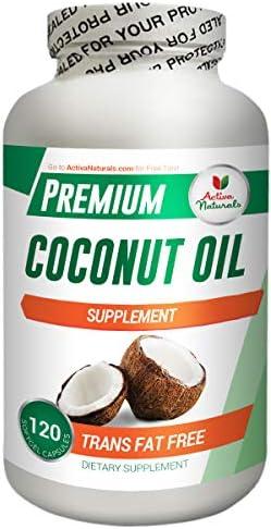 Activa Naturals Coconut Oil Supplement