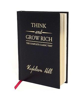 By Hill, Napoleon ( Author ) [ { Think and Grow Rich (Deluxe) } ]Oct-2008 Hardcover