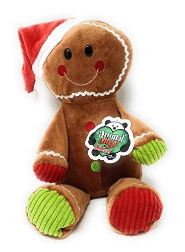 Amazon Com Exclusive Animal Alley Cheer Gingerbread Man Stuffed