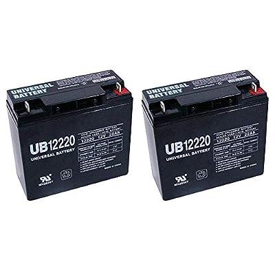 Universal Power Group 12V 22Ah SLA Battery CAT CJ3000 2000 Amp Jump Starter + 2 Pack
