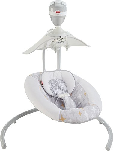Fisher Price Starlight Revolve Swing With Smartconnect Twilight