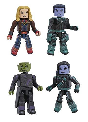 DIAMOND SELECT TOYS Marvel Minimates: Captain Marvel Minimates Box Set