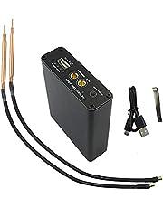 Sunydog 5 Dişliler Ayarlanabilir Mini Nokta Kaynak Makinesi Tip-C 0.1-.015mm Nikel Levha Kullanarak DIY 18650 Lityum Pil Lehimleme için Hızlı Şarj Fonksiyonlu Şarj Arayüzü