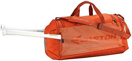 EASTON E310D PLAYER Bat /& Equipment Duffle Bag 2 Side Pockets 2020 Shoe Pocket Vented Pockets Baseball Softball Main Gear Compartment Minimize Oder /& Quick Dry 2 Bat Sleeves