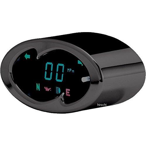 ダコタデジタル Dakota Digital スピードメーター(km/h、MPH) 5000 黒 ウェーブ 2210-0191 MCL-5100-K   B01MDKDQN0