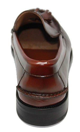 Zapato Marrón JOHN Castellano COLEMAN con Tipo Color Mocasín Borlas HwHrp7xZq