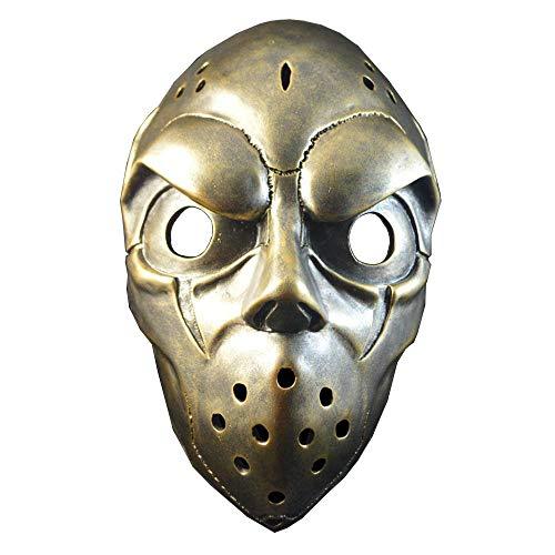 QJXSAN Halloween Ball Performance Mask Full Face Mask]()