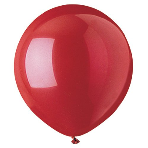 CTI latex balloons 951701 STANDARD RED 17,