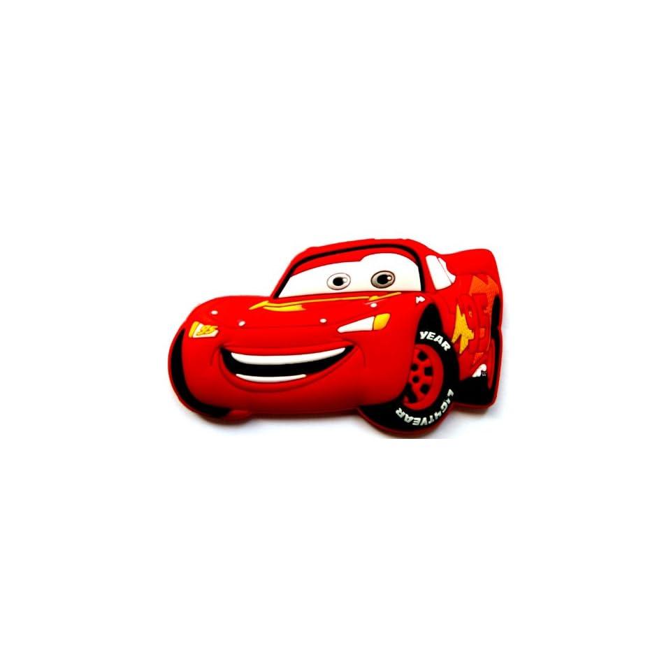 Lightning McQueen in Cars Movie Disney ~ Fridge Magnet ~ Refrigerator Magnet ~ racecar