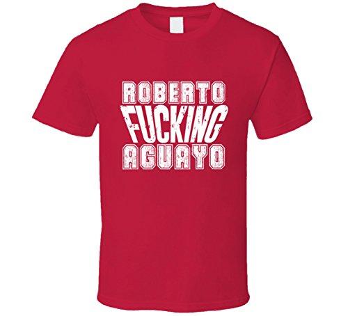 Tshirtshark Fcking Roberto Aguayo Tampa Bay Football Team Favorite Player Fan T Shirt XL Red