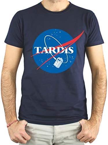 PLANETACAMISETA Camiseta Hombre Unisex - NASA Tardis: Amazon.es: Ropa y accesorios