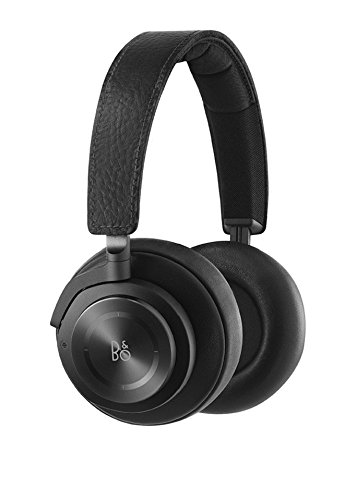 B&O PLAY by Bang & Olufsen BO1643626 H9 Wireless Over-Ear Headphone with Active Noise Cancelling, Bluetooth 4.2 (Black)