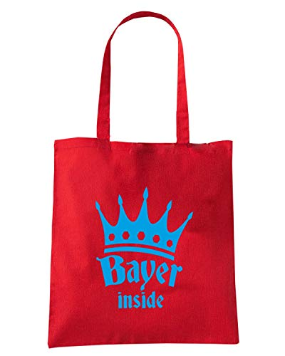 Rossa BEER0034 KING INSIDE OKTOBERFEST BAYER Borsa Shopper 5vqF4