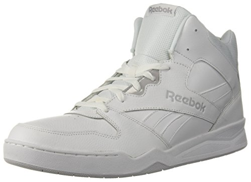 Reebok Men's Royal Bb4500 Hi2 Walking Shoe, White/LGH Solid Grey, 11 M US