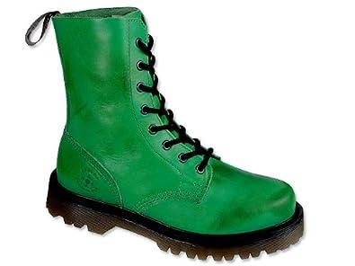 ACES OF LONDON Trendy grüne Boots Boot grün, Schuhgröße