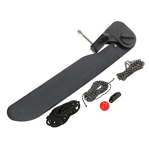 (Walmeck Canoe Kayak Boat Tail Kayak Rudder Direction Foot Control Steering System Tool Kit)