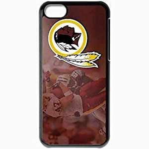 Personalized iPhone 5C Cell phone Case/Cover Skin 1345 washington redskins Black