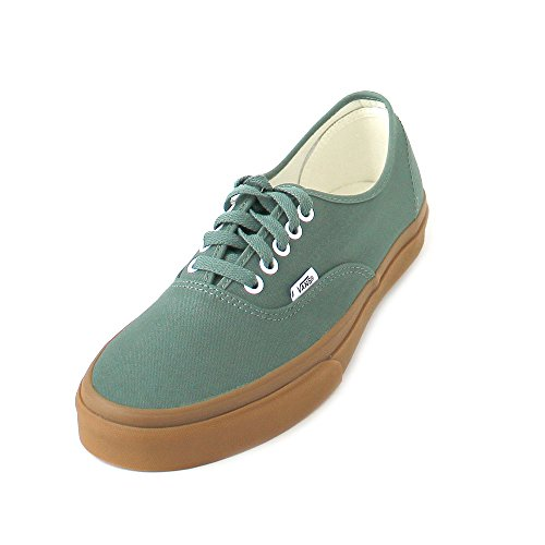 Vans Authentic Duck Green/Gum Skateboard Sneakers VN0A38EMQ9V (12 Women/10.5 Men M US)