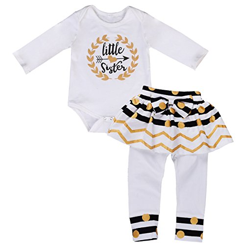 infant and girl matching dresses - 5