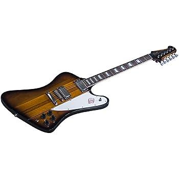 Gibson USA Firebird 2016 High Performance Guitar, Vintage Sunburst with Chrome Hardware